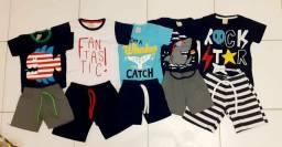 Kit Infantil Masculino (Camiseta + Bermuda)