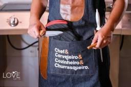 Avental para churrasco