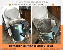 Fritadeira industrial 36 litros - Eccel | Matheus