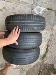 Título do anúncio: 3 pneus 185/60 R14