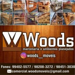 Título do anúncio: Festival Menor Preço Beliche Original Maciço! Nada se Compara Woods