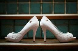 Sapato Carmen Steffens noivas