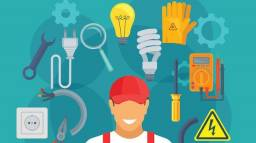 Título do anúncio: Eletricista 24 horas / tecnico CFT ATIVO