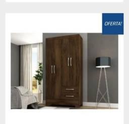 Título do anúncio: Guarda Roupa 2 Portas Oferta Na D Tudo Para Casa Móveis