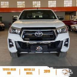 Título do anúncio: Toyota Hilux - SRV - 2.8 Diesel - 19/19 - Branca - 72.689km