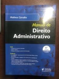 Manual de Direito Administrativo - Matheus Carvalho 6ª ed 2019