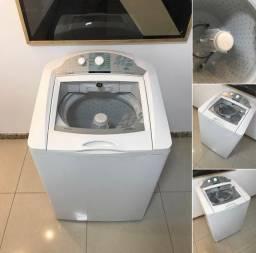 Título do anúncio: Máquina de Lavar 13kg Conservada Entrego