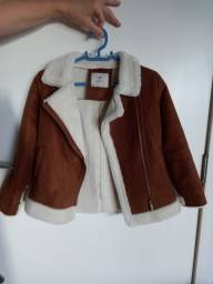 Jaqueta de pelinho infantil