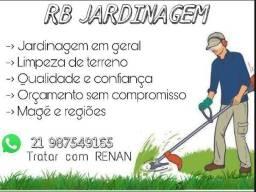 Título do anúncio: Jardinagem limpeza de quintal terreno