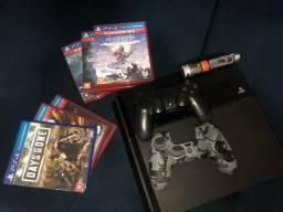 PS4 500GB + 10 jogos e Acessórios OPORTUNIDADE!!
