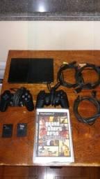 Playstation 2 Completo + 39 jogos!!!