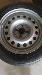 Título do anúncio: Rodas 14 com pneus 175/65/14