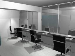 Título do anúncio: 2 Mesas de escritório C/ 2 estações