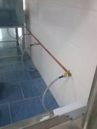 TECG instalação de gás GlP e GN