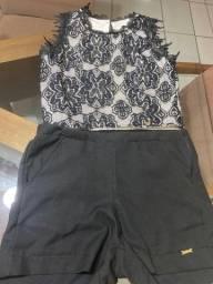 Conjunto short e blusa Jacris