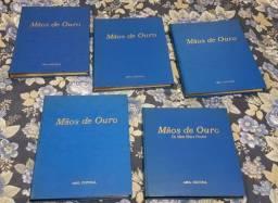 Título do anúncio: Coleção Mãos de ouro com 5 volumes Editora Abril cultural Ano 1968
