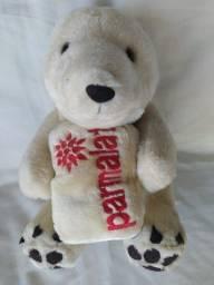 Bicho de Pelúcia Parmalat Urso Polar