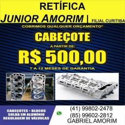 Cabeçote Cruze 1.8 16V / Tracker 1.8 16V / Escort 1.0 / Gol 1.0
