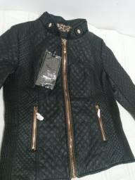 Título do anúncio: Jaqueta em couro ecológico (Beijamor)