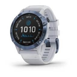 Relogio Smartwatch Garmin Fenix 6 Pro - Mineral Blue