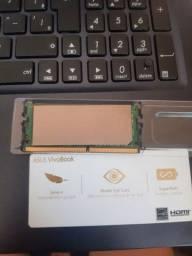 Memoria ram ddr4 4Gb original Asus 3 meses de uso