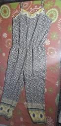 Macacão em tecido
