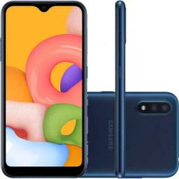 Samsung Galaxy A01 32GB Tela 5,7? Câm. Dupla