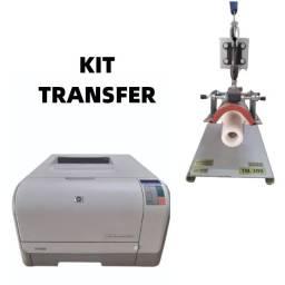 Kit Transfer Maquina + Impressora Laser Color Hp Com Brinde