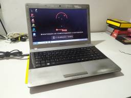 Notebook samsung 12x no cartão - 4gb - ssd 120gb - Zerado e com garantia