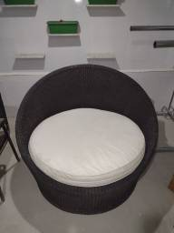 Título do anúncio: Vendo cadeira chaise sofá poltrona varanda