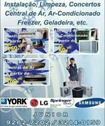 Título do anúncio: Limpeza em central de ar