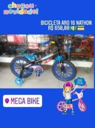 Bicicleta aro 16 nathon loja Mega Bike