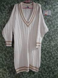 Blusão de Lã Inglês