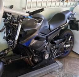 Moto Para Retirada De Peças / Sucata Yamaha Xj6 N Ano 2013