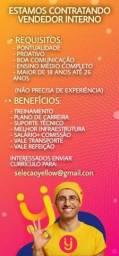 Título do anúncio: VAGA VENDEDOR(A)
