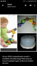 Opções de kits de brinquedos excelentes alguns c itens lacrados