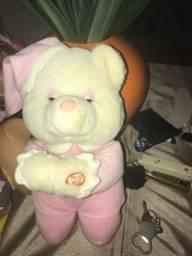 urso rosa conservado