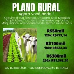 Título do anúncio: Plano Rural Pequeno Agricultores - sítio, fazenda,trator, agricultura