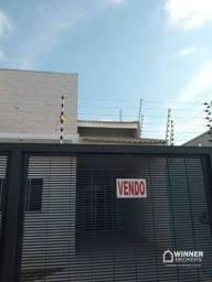 Casa com 2 dormitórios à venda, 88 m² por R$ 235.000,00 - Jardim São Paulo - Sarandi/PR