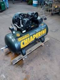 Título do anúncio: Compressor de ar 15 pés 200 litros trifásico - semi novo