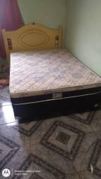Título do anúncio: Vendo cama bem conservada por 600$