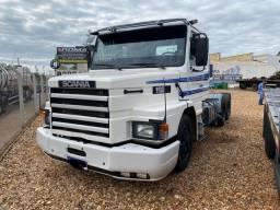 Título do anúncio: Caminhão Scania T112H 6X2 intercooler 10 marchas / feito motor e bomba