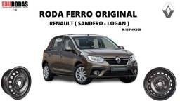Título do anúncio: Estepe Renault Logan & Sandeiro Roda + Pneu Original R:15