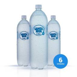 Água Mineral natural 1,5L com gás c/ 6 uni
