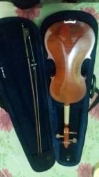 Violino com case e arco