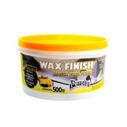 Massa de Polir Wax Finish 500 gramas Perola