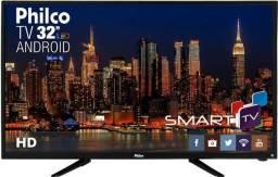 Tv Smart Android 32 Nova na caixa! 1 Ano de garantia! Marca Philco! Netflix, Wi-Fi e mto +