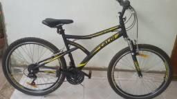 Vende-se bicicleta caloi $600,00 reais