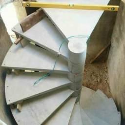 Escadas caracol pré moldadas