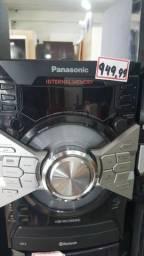 Som Panasonic 1200w Bluetooth 2USB Entregamos e Passamos Cartão HEMoveis Zap981585868